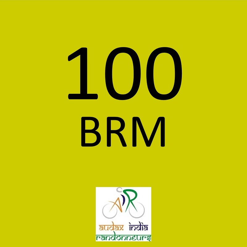 Indian Cycle Club  100 BRM on 11 Aug 2019