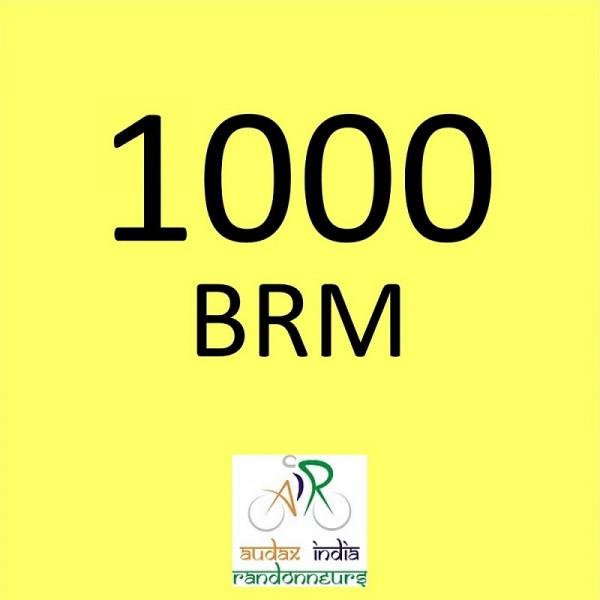 Aurangabad Randonneurs 1000 BRM on 01 Nov 2018