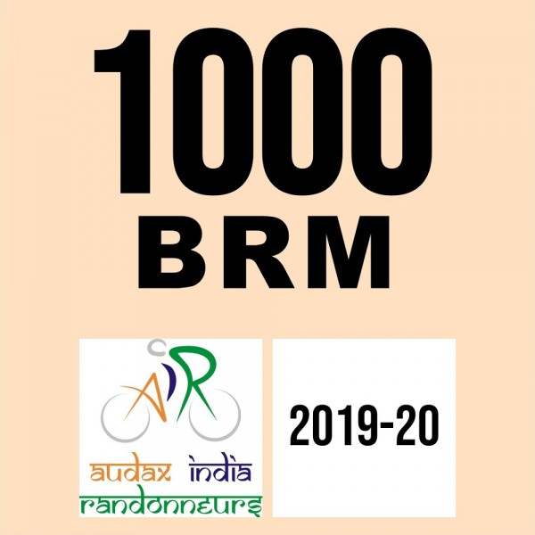 Lucknow Randonneurs 1000 BRM on 09 Feb 2020