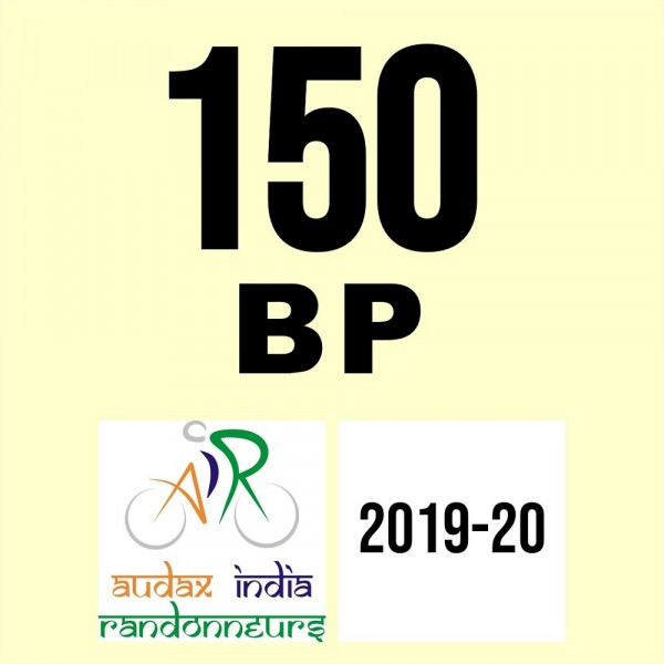 Kanpur Randonneurs 150 BP on 08 Feb 2020