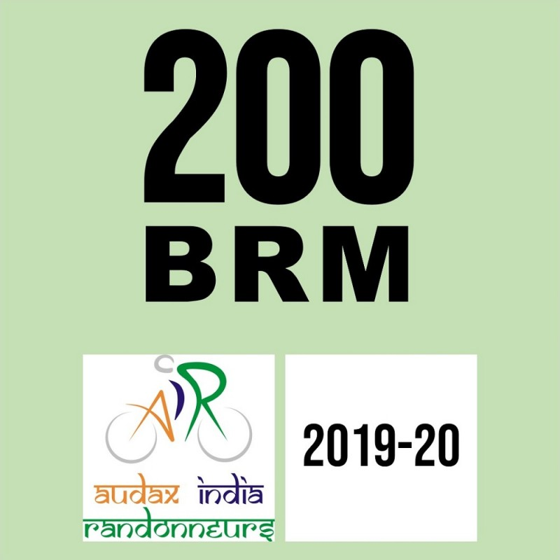 Spartans - Pedal N Chain Cycling Club 200 BRM on 02-Feb-2020