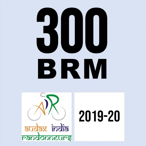 Salem Cycling Club 300 BRM on 12 Jan 2020