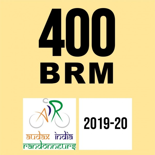 Cyclone Cycling Club 400 BRM on 25 Jan 2020