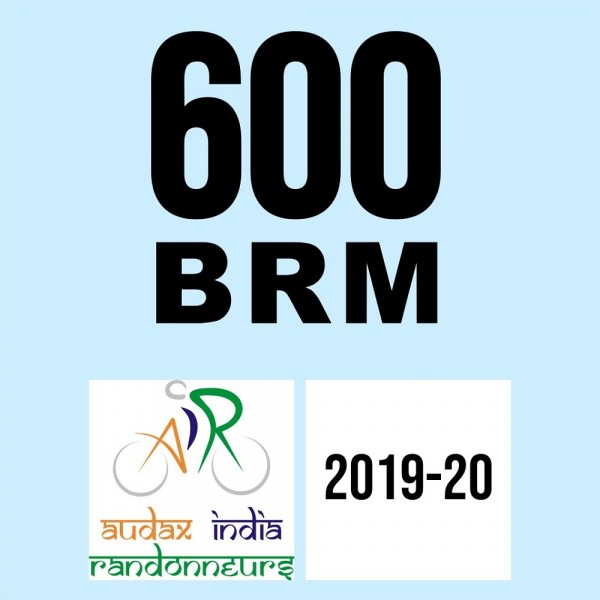 Gwalior Cycling Rangers 600 BRM on 09-Feb-2020