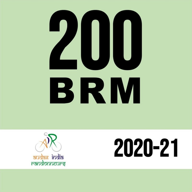 Kanpur Randonneurs 200 BRM on 02 May 2021