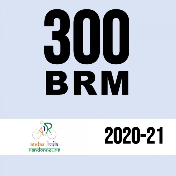PCMC Cyclists 300 BRM on 05 Dec 2020