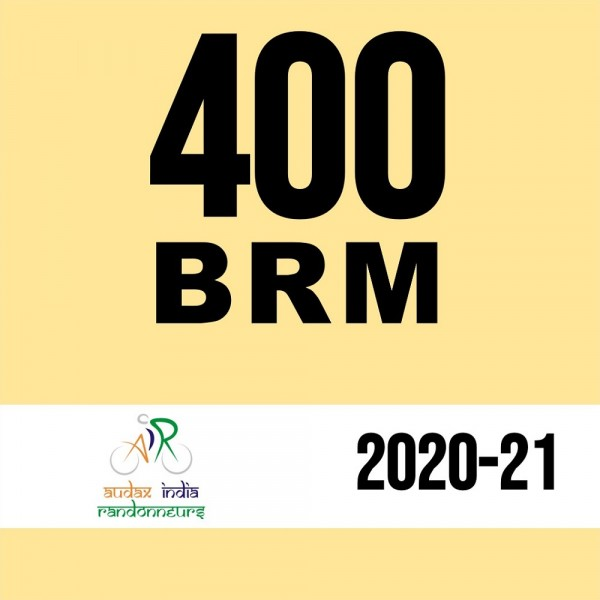 Indian Cycle Club  400 BRM on 12 Dec 2020