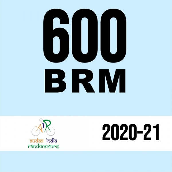 Bangalore Randonneurs 600 BRM on 11 Dec 2020