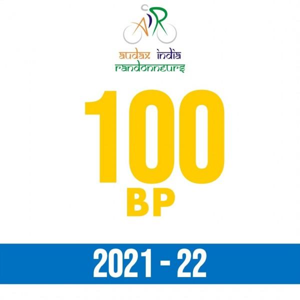 Jintur Randonneurs 100 BP on 14 Nov 2021