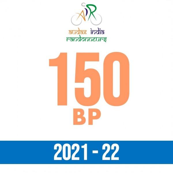 Jintur Randonneurs 150 BP on 05 Dec 2021