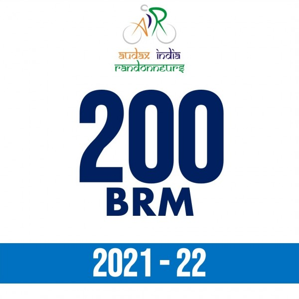 PCMC Cyclists 200 BRM on 14 Nov 2021