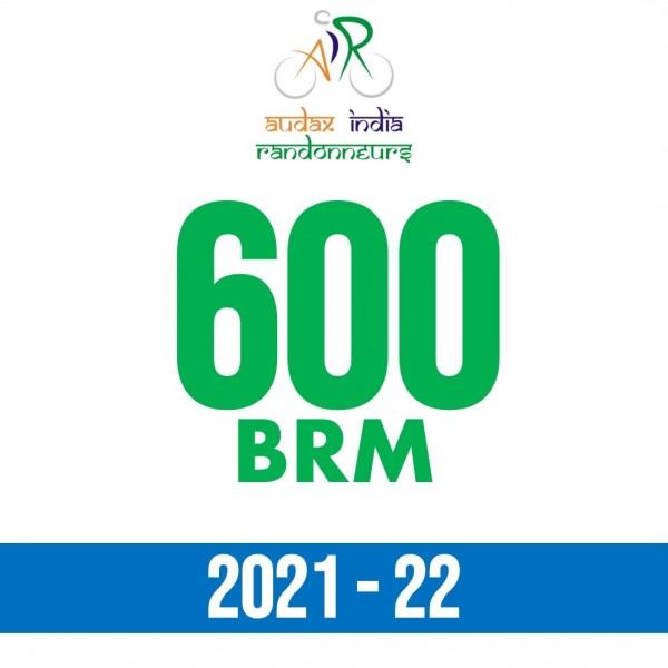 PCMC Cyclists 600 BRM on 18 Dec 2021