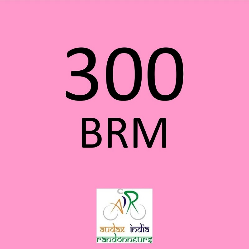 Noida Randonneurs 300 BRM on 06 Apr 2019