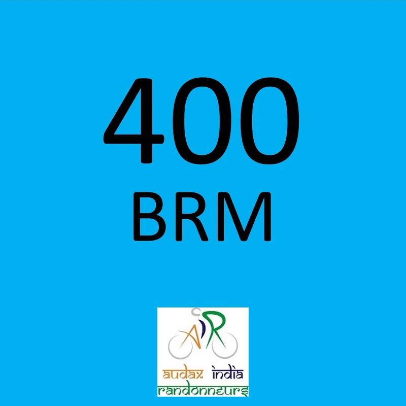 Surat Randonneurs 400 BRM on 06 Apr 2019