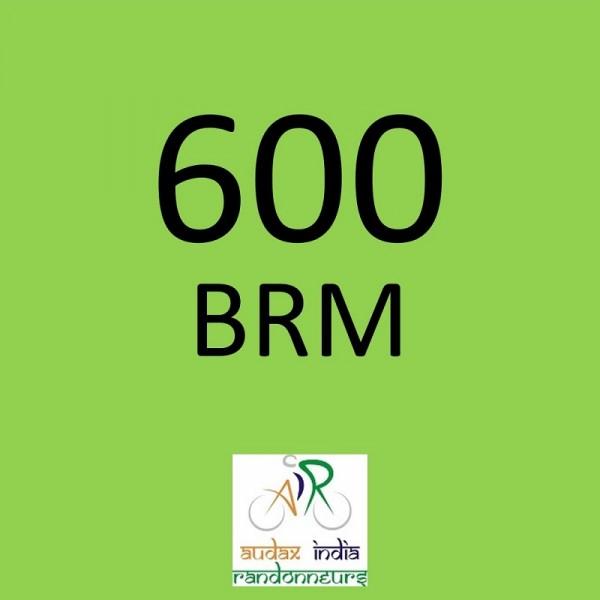 Aurangabad Randonneurs 600 BRM on 08 Dec 2018