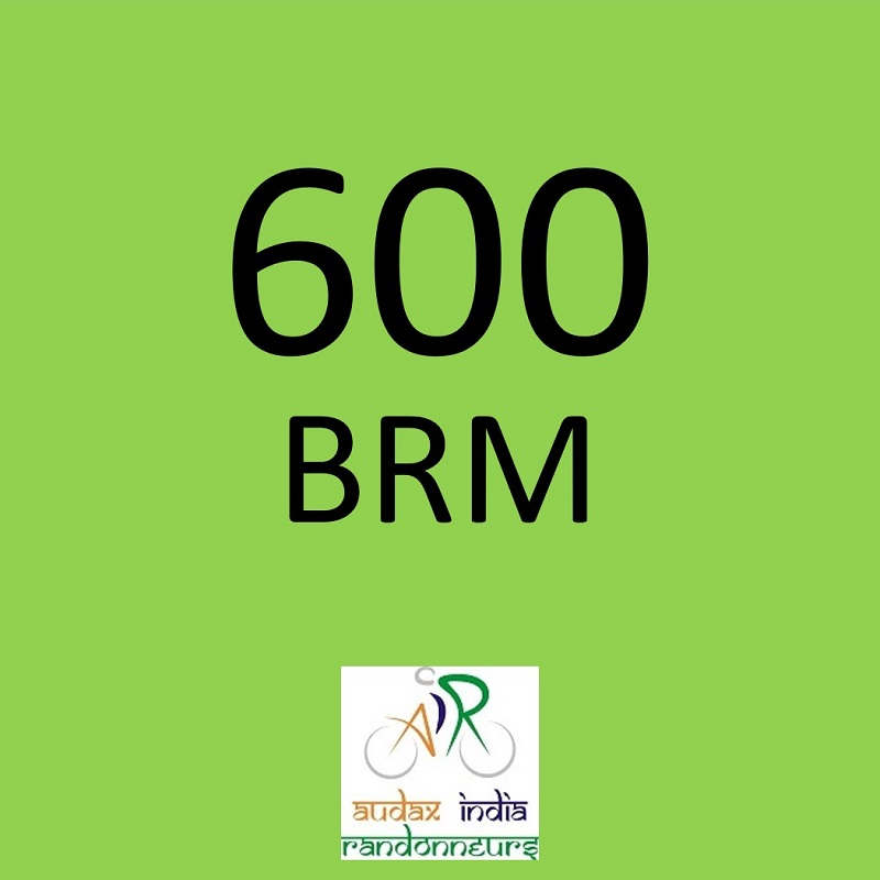 Hubballi Bicycle Club 600 BRM on 21 Sep 2019