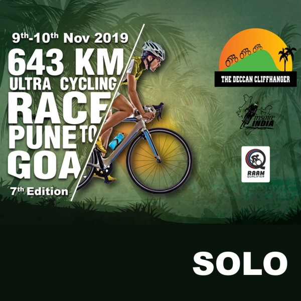 The Deccan Cliffhanger 2019 643 kms - SOLO