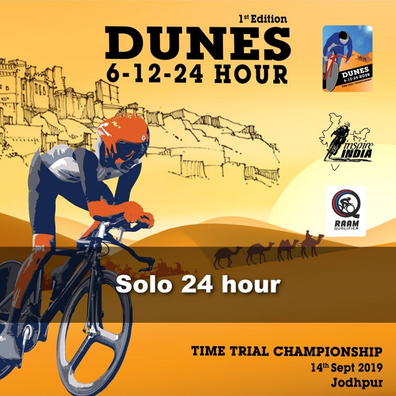 Dunes Time Trial 2019 Solo 24 hr
