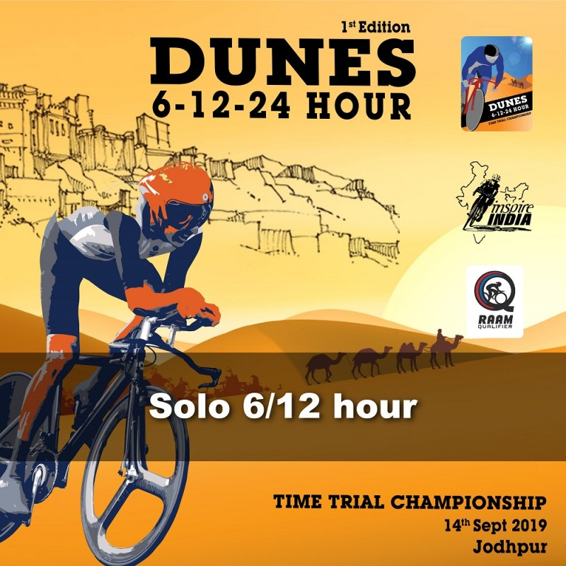 Dunes Time Trial 2019 Solo 6 and 12 hr