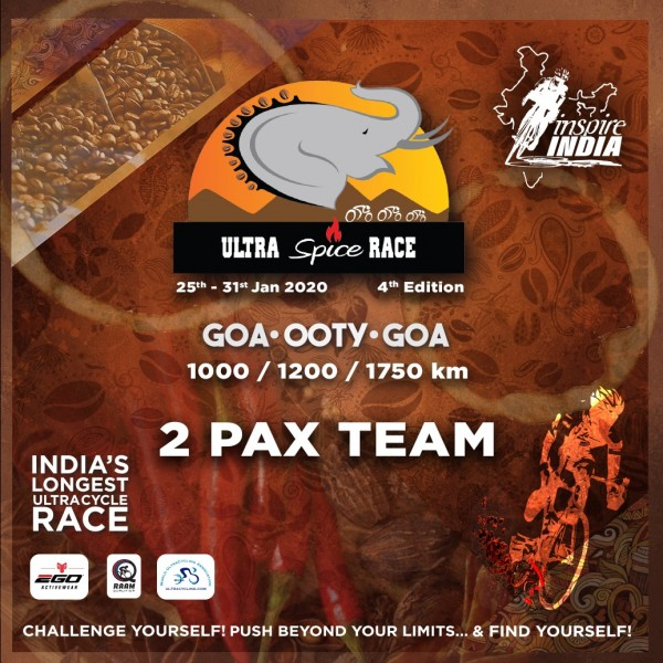 The Ultra Spice Race 2020 2 Pax Team