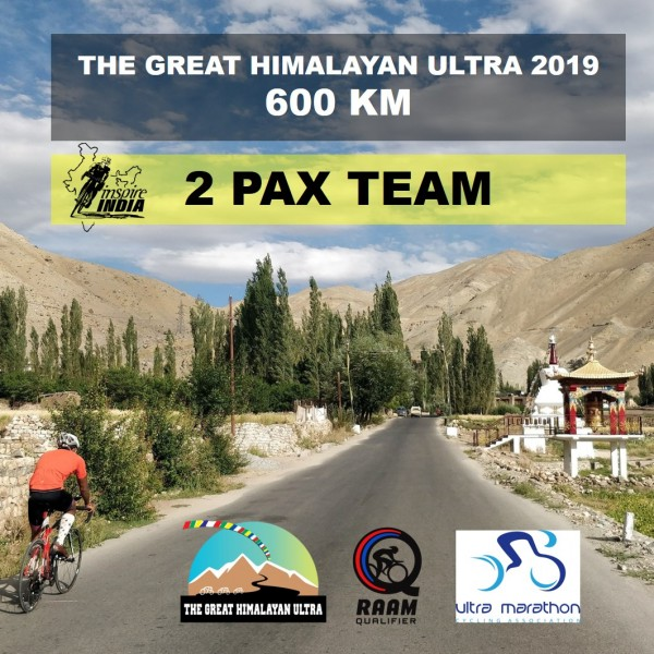 The Great Himalayan Ultra 600 km 2019 - 2 Pax Team