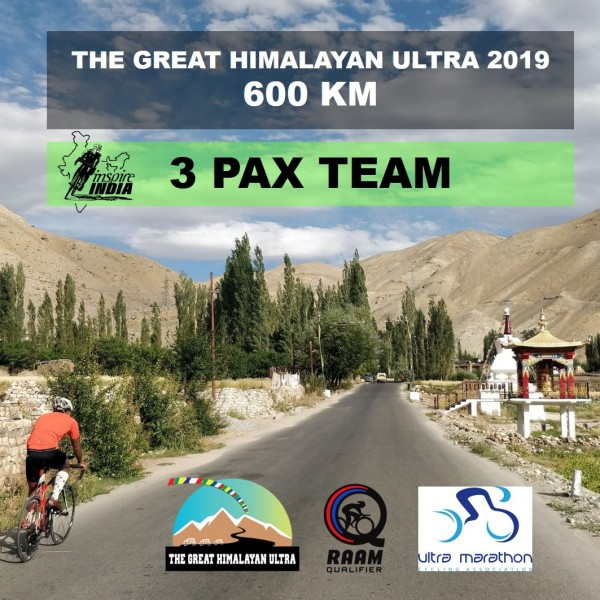 The Great Himalayan Ultra 600 km 2019 - 3 Pax Team