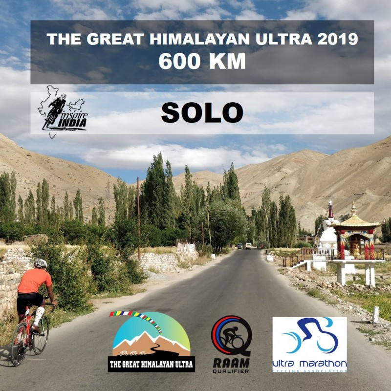 The Great Himalayan Ultra 600 km 2019 - Solo