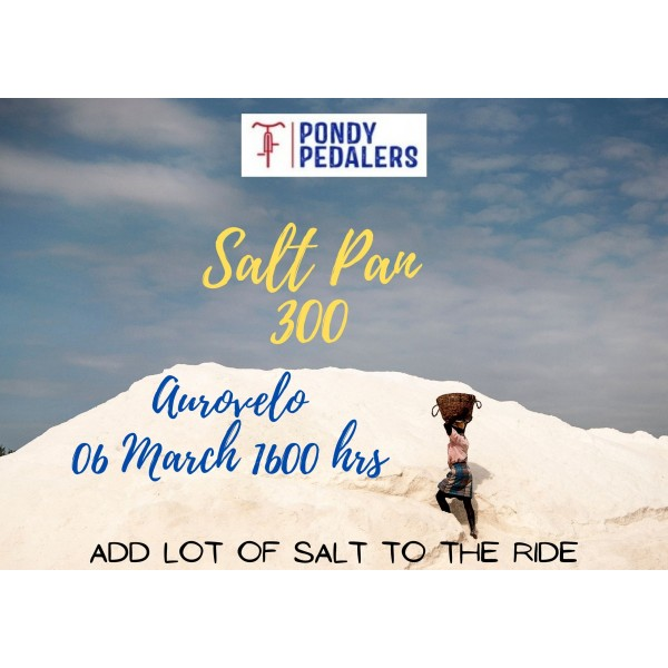 Pondy Pedalers 300 BRM on 06 Mar 2021