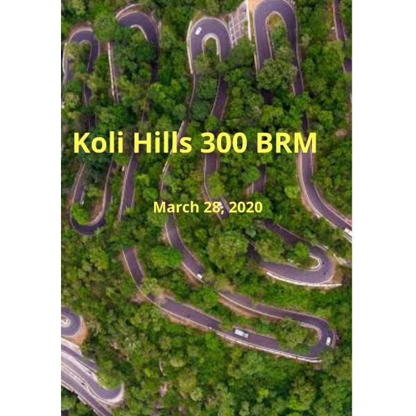 Trichy Randonneuring 300 BRM on 28 Mar 2020