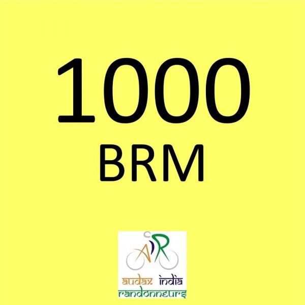 CYCLONE CYCLING CLUB 1000 BRM on 26-Oct-2018