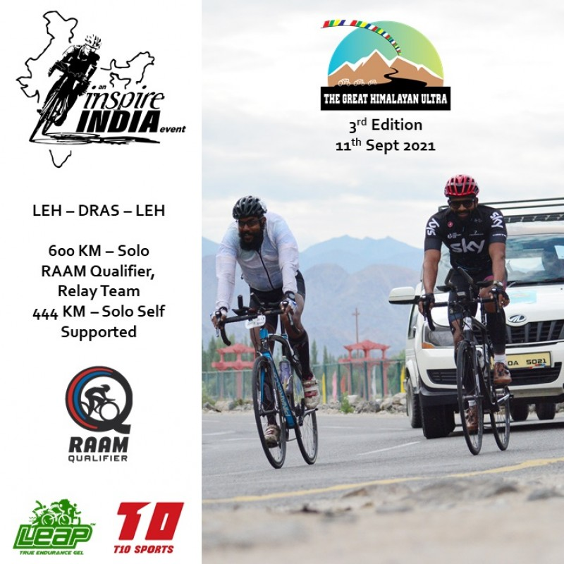 THE GREAT HIMALAYAN ULTRA 600 km 2 Pax Team 2021