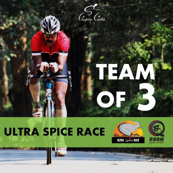 THE ULTRA SPICE RACE 2019 3 Person Relay Team