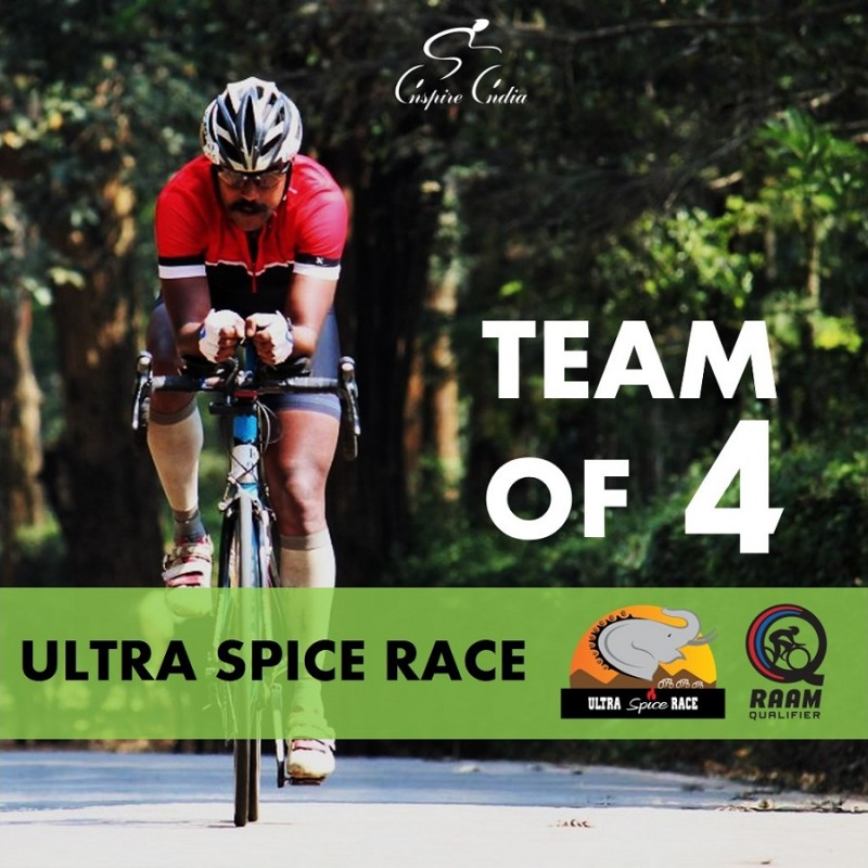THE ULTRA SPICE RACE 2019 4 Person Relay Team