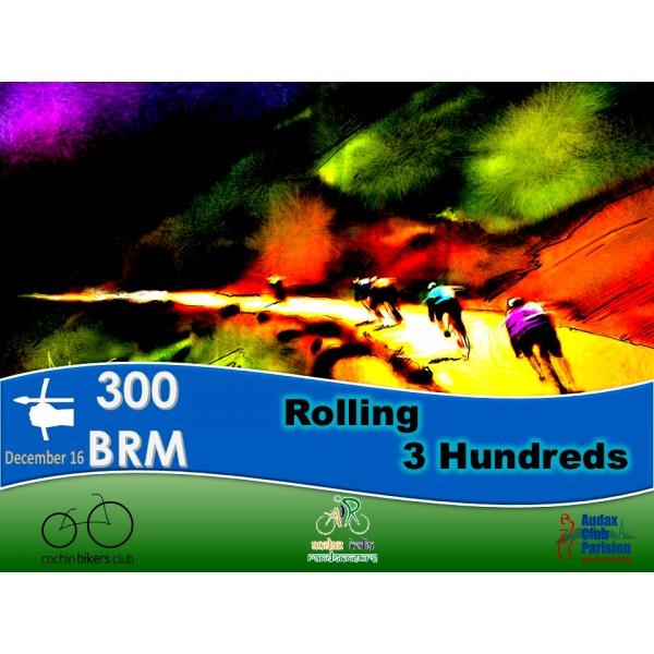 Rolling 3 Hundreds  BRM on 16 Dec 2018