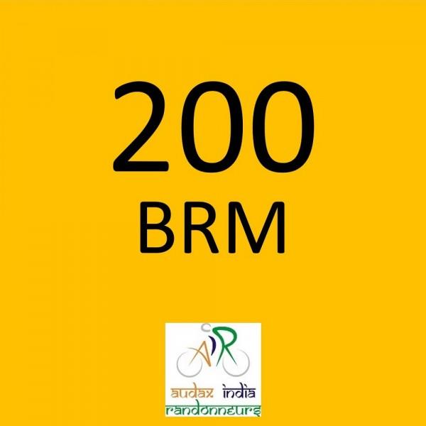 CYCLONE CYCLING CLUB 200 BRM on 20-Oct-2018