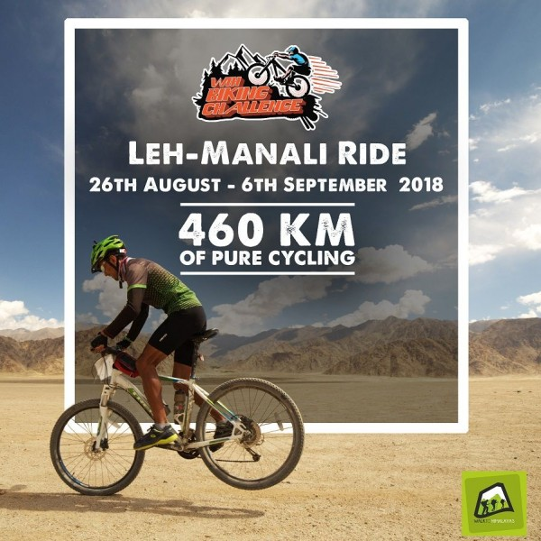 WTH Manali to Leh Ride - 2018